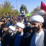 حضور روحانیت و طلاب حوزه در راهپیمایی ۲۲ بهمن ۹۸