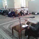 جلسه مدیریت حوزه با اساتید